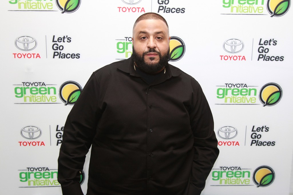 DJ Khaled attending the Bryan-Michael Cox pre-GRAMMY Brunch 2016