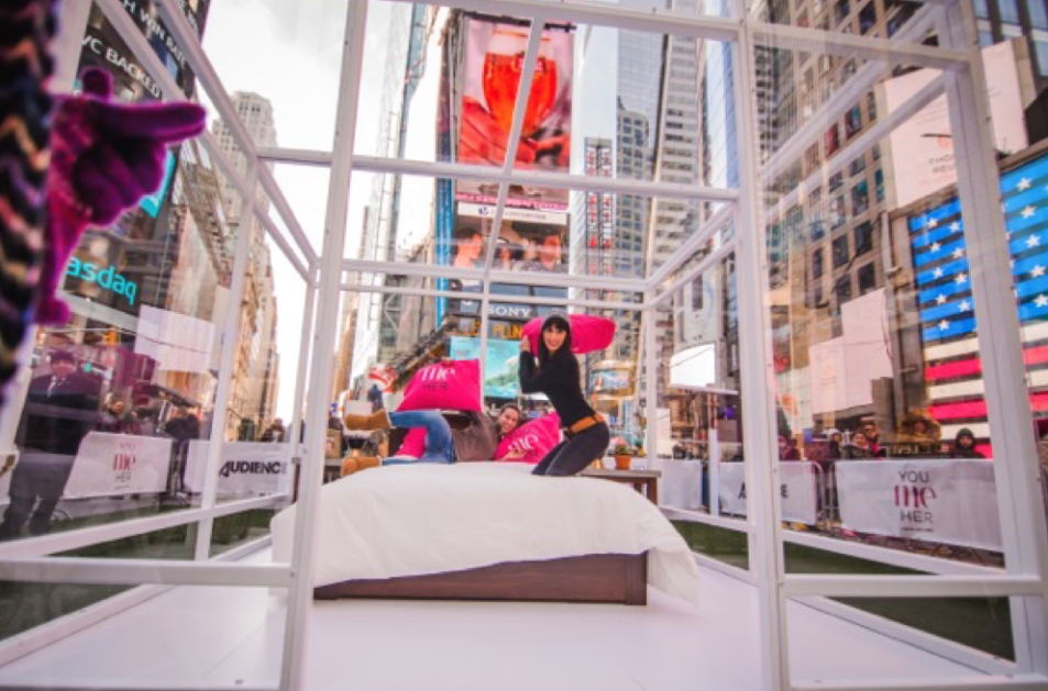 You me her premiere activities ncompass international for Activities in times square